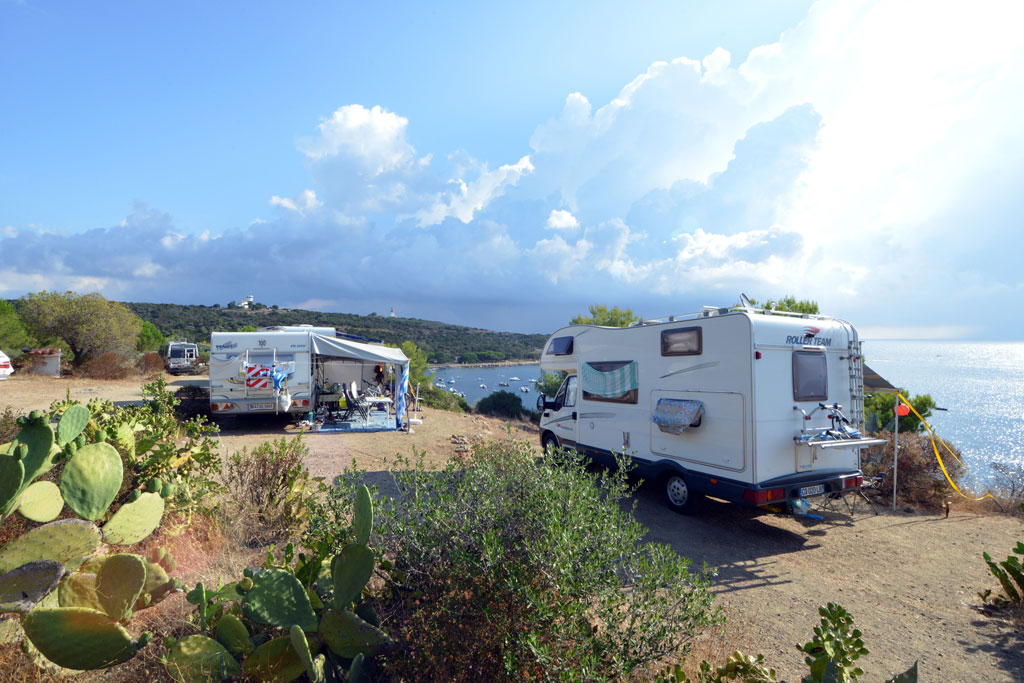 Emplacement Camping Corse Sud